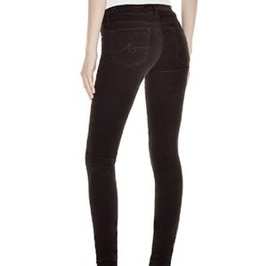⭐SALE⭐ AG The Legging Super Skinny Velvet Jeans